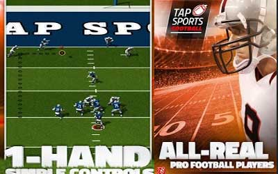 TAP SPORTS FOOTBALL Screenshot 1