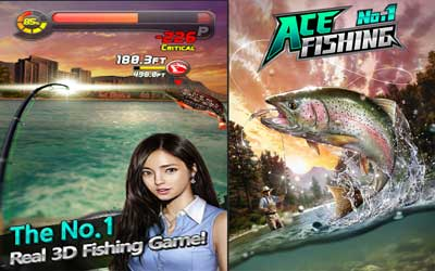Ace Fishing: Wild Catch Screenshot 1