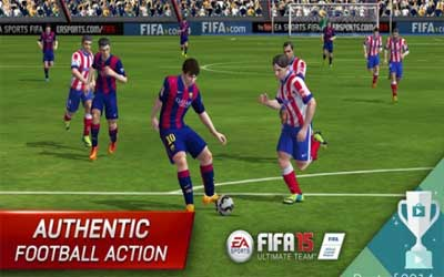 FIFA 15 Ultimate Team Screenshot 1
