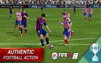 FIFA 15 Ultimate Team Screenshot 1