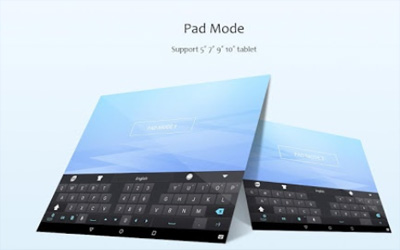 GO Keyboard Screenshot 1