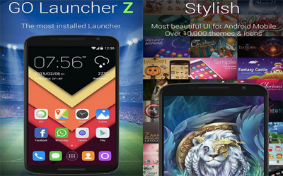 GO Launcher Screenshot 1