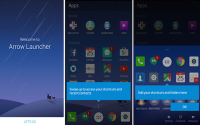 Microsoft Arrow Launcher Screenshot 1