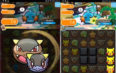 Pokemon Shuffle Mobile Screenshot 1