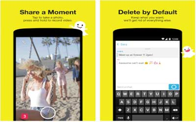 Snapchat Screenshot 1