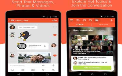 Tango – Free Video Call & Chat Screenshot 1