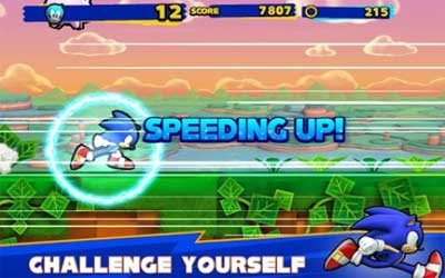 Sonic Runners Screenshot 1