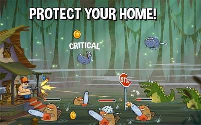 Swamp Attack Screenshot 1