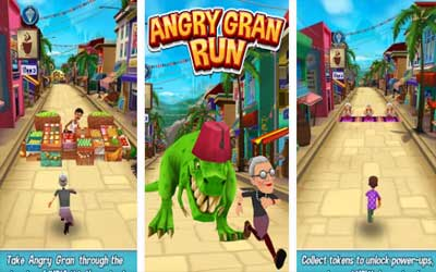 Angry Gran Run Screenshot 1