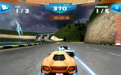 Fast Racing 3D Screenshot 1
