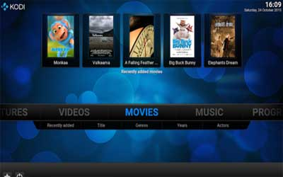 Kodi Screenshot 1