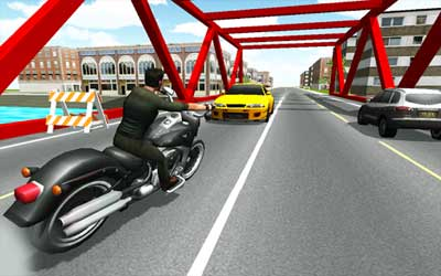 Moto Racer 3D Screenshot 1