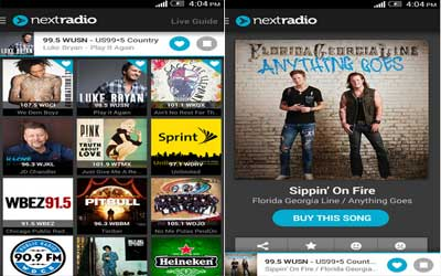 NextRadio Screenshot 1