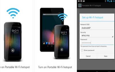 Portable Wi-Fi hotspot Screenshot 1
