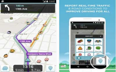Waze Screenshot 1