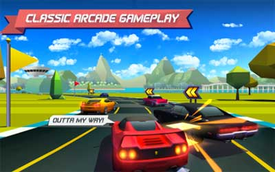 Horizon Chase – World Tour Screenshot 1