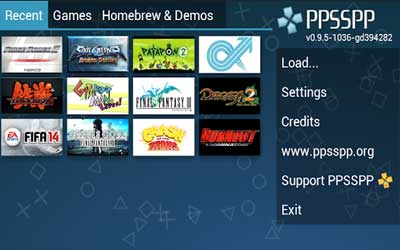 PPSSPP – PSP emulator Screenshot 1