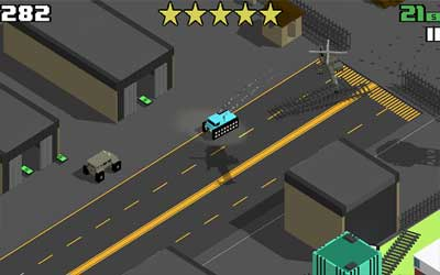 Smashy Road: Wanted Screenshot 1
