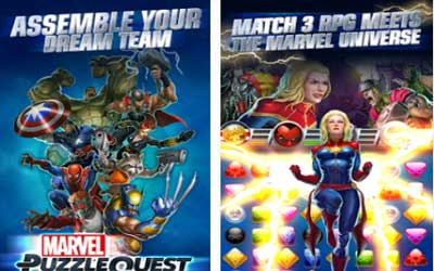 Marvel Puzzle Quest Screenshot 1