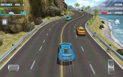 Turbo Car Racing 3D Screenshot 1