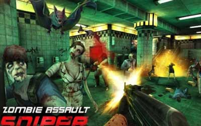 Zombie Assault:Sniper Screenshot 1