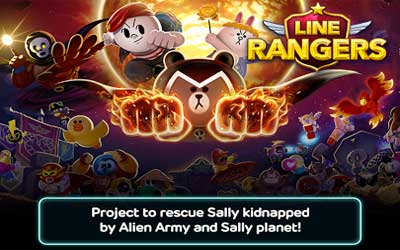 LINE Rangers Screenshot 1