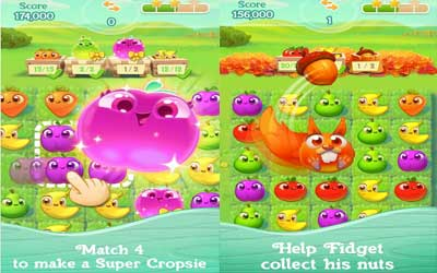 Farm Heroes Super Saga Screenshot 1