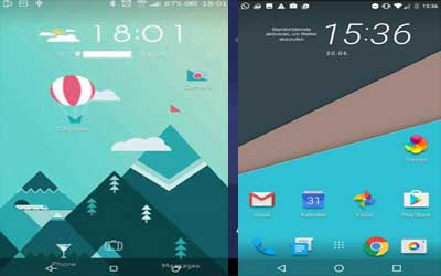 HTC Sense Home Screenshot 1