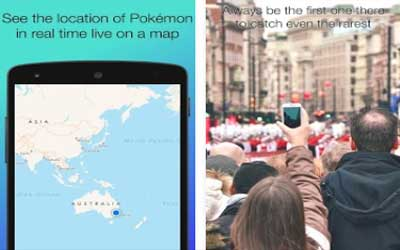 PokeWhere Screenshot 1
