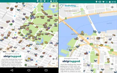 Pokemap Live Screenshot 1