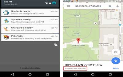 Pokenotify – Notifications for Pokemon Screenshot 1
