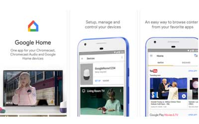 Google Home Screenshot 1