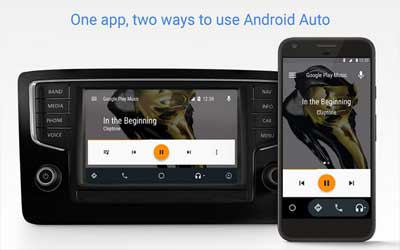 Android Auto Screenshot 1