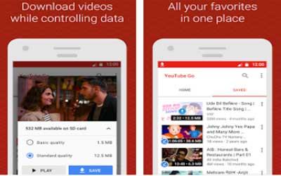 YouTube Go Screenshot 1
